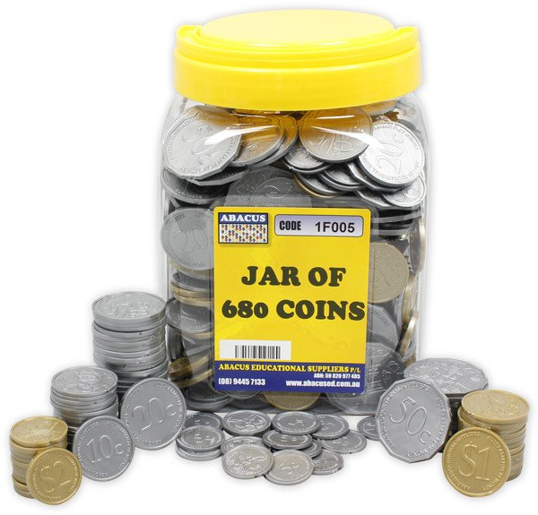 Jar of Coins (680)
