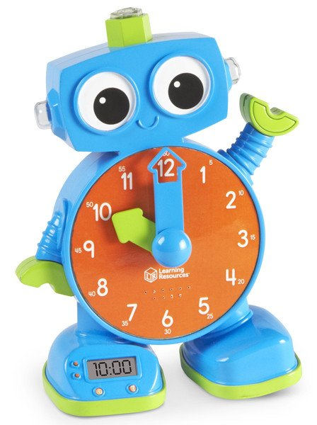 Tock the Learning Clock™ - Blue