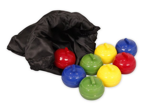 Curling Stones - Bag of 8