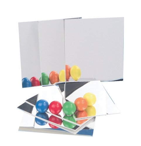 Student Mirrors - 90 x 60mm (Pack of 10)
