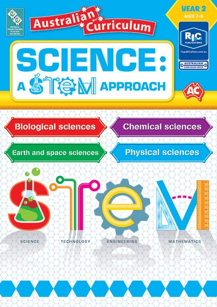 Science: A STEM approach - Year 2 Book