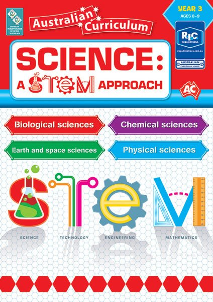 Science: A STEM approach - Year 3 Book