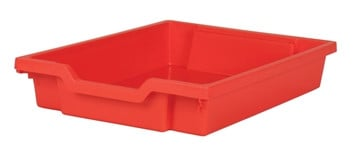 Gratnells Tray - Shallow - RED