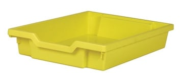 Gratnells Tray - Shallow - YELLOW