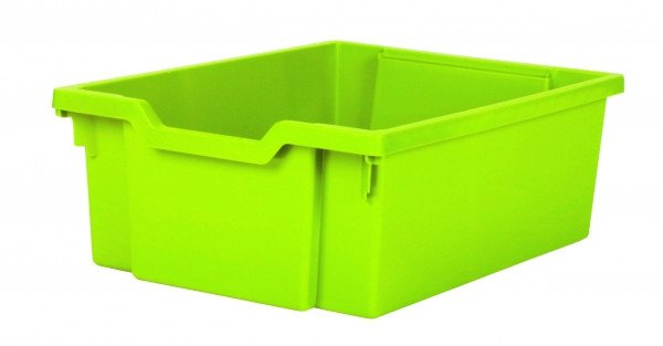 Gratnells Tray - Deep - LIME GREEN