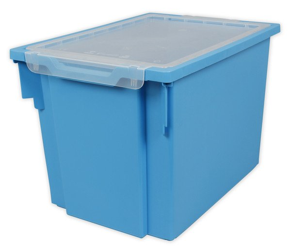 Gratnells Tray + Lid - Jumbo - LIGHT BLUE