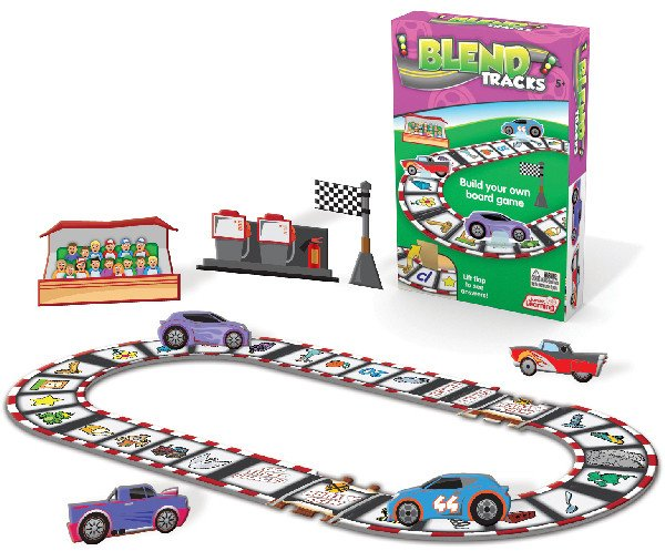 Blend Tracks: Build your own Board Game