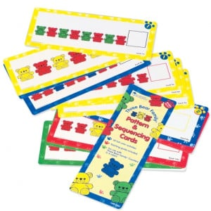 Three Bear Family Pattern Cards - Junior Primary