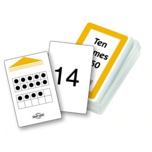 Smart Chute Cards - Ten Frames to Fifty