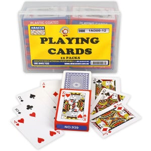 Playing Cards (Set of 12)