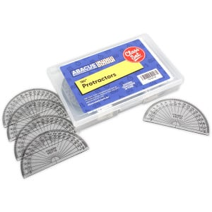 180 Degree Protractor - Class set of 30