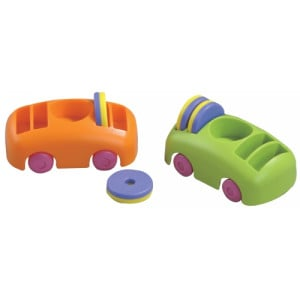 Bumper Car And Ring Magnet Set
