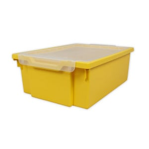 Gratnells Tray + Lid - Deep - YELLOW