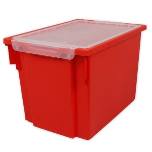 Gratnells Tray + Lid - Jumbo - RED