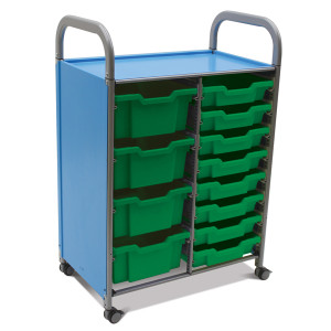 Callero Double Trolley - SD Tray Unit
