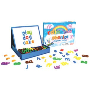 Rainbow Phonics Magnetic Letters