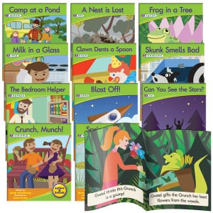 Decodable Readers - Blend Fiction (Set of 12)