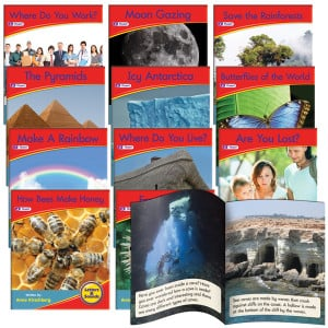 Decodable Readers - Spelling Non-Fiction (Set of 12)
