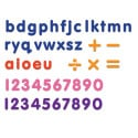 Rainbow Letters and Numbers