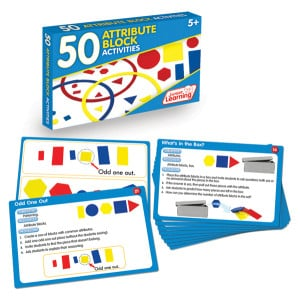 50 Attribute Block Activity Cards
